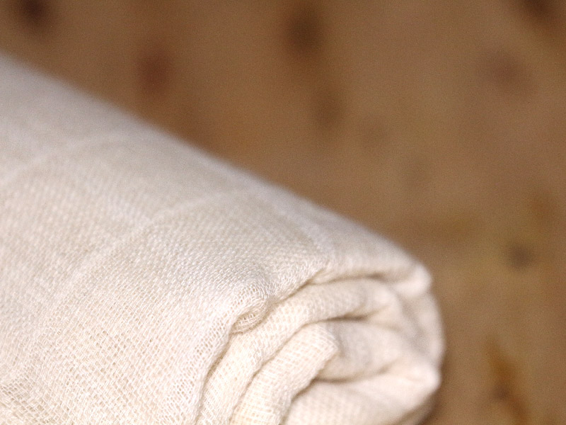 Muslin double cloth gauze